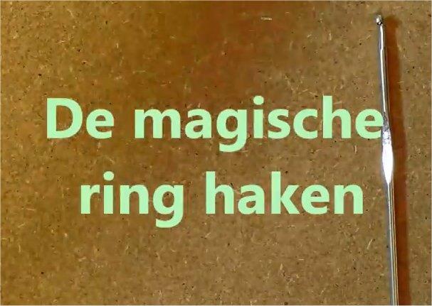 magische ring haken beginners